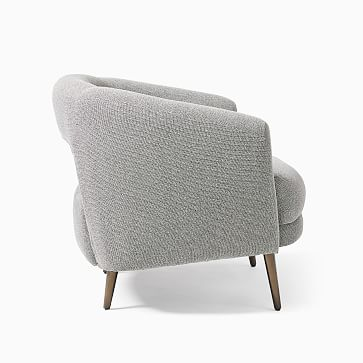 Millie Chair, Poly, Distressed Velvet, Dune, Oil Rubbed Bronze