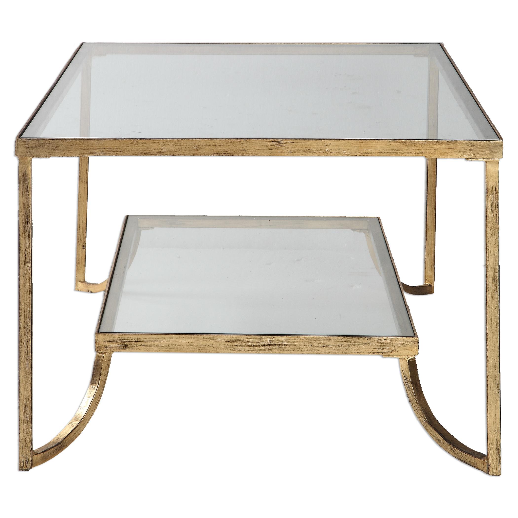 Katina Gold Leaf Coffee Table