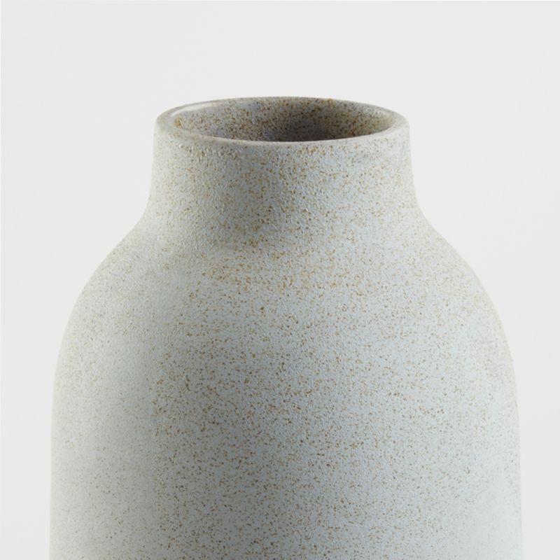 Rhonna Grey Ceramic Vase