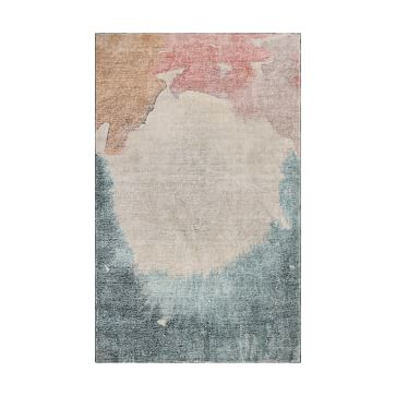 Watercolor Field Rug, 9'x12', Multi