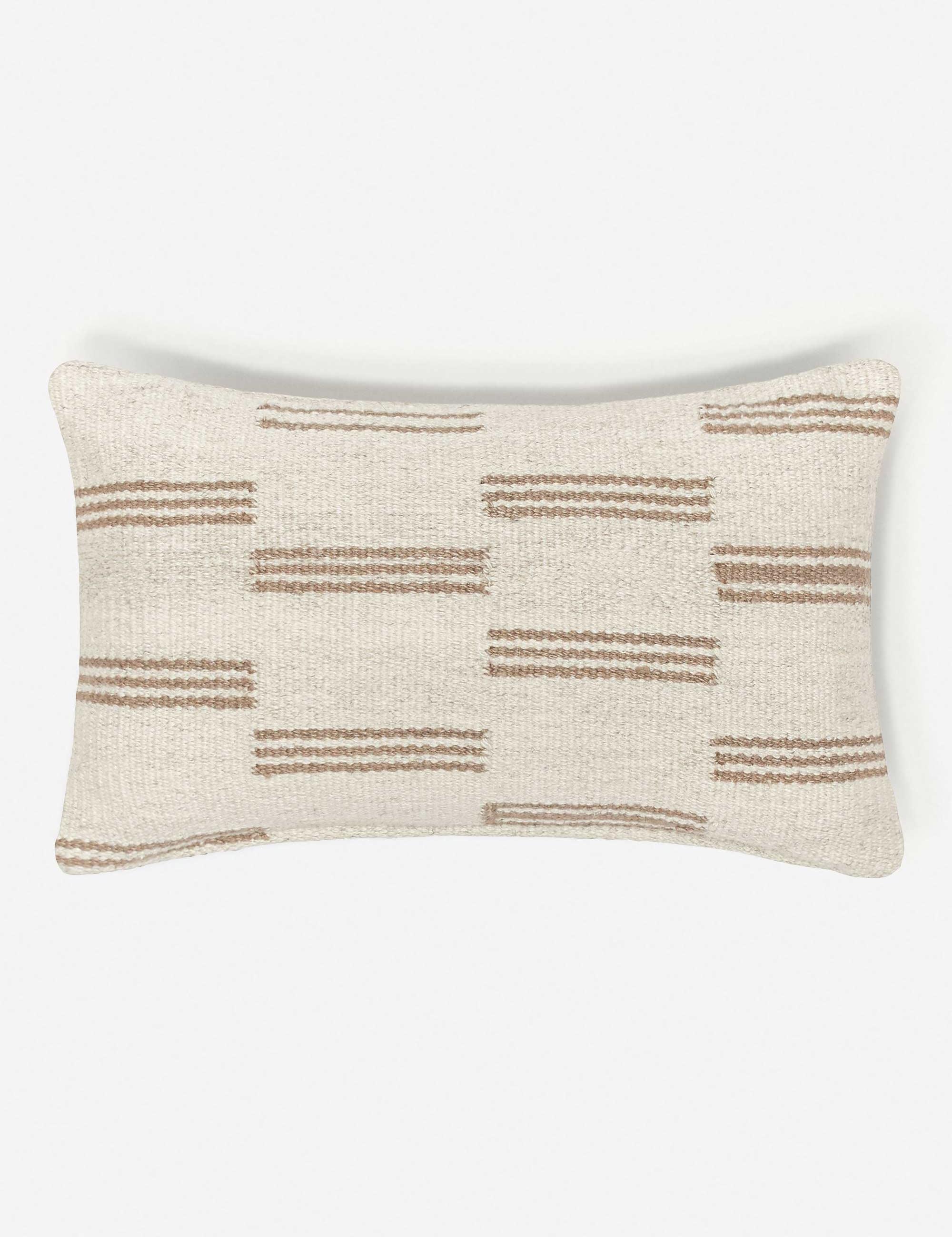Stripe Break Lumbar Pillow By Sarah Sherman Samuel