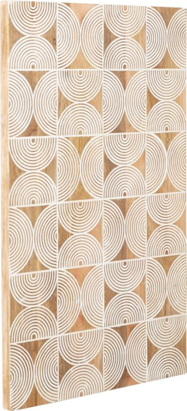 Cultivo Geometric Wood Wall Art