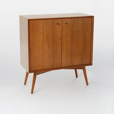 Mid-Century Small Cabinet, Acorn