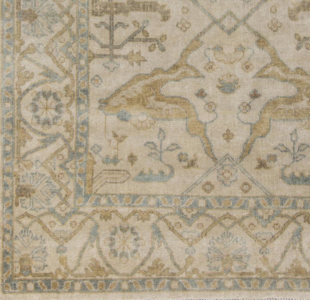 Antique 2' x 3' Area Rug