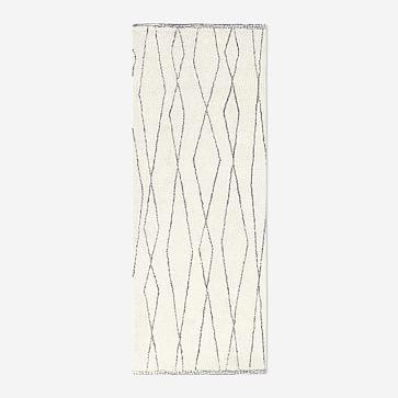 Safi Rug, 8x10, White