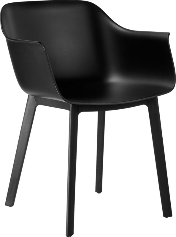 Shape Black Molded Chair