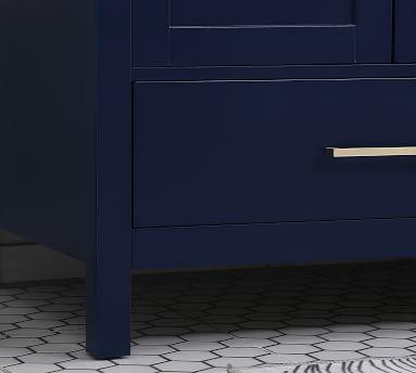 """Riola 72"""" Double Sink Vanity, Blue"""