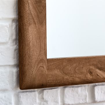 Anton Mirror, Burnt Wax, Rectangle