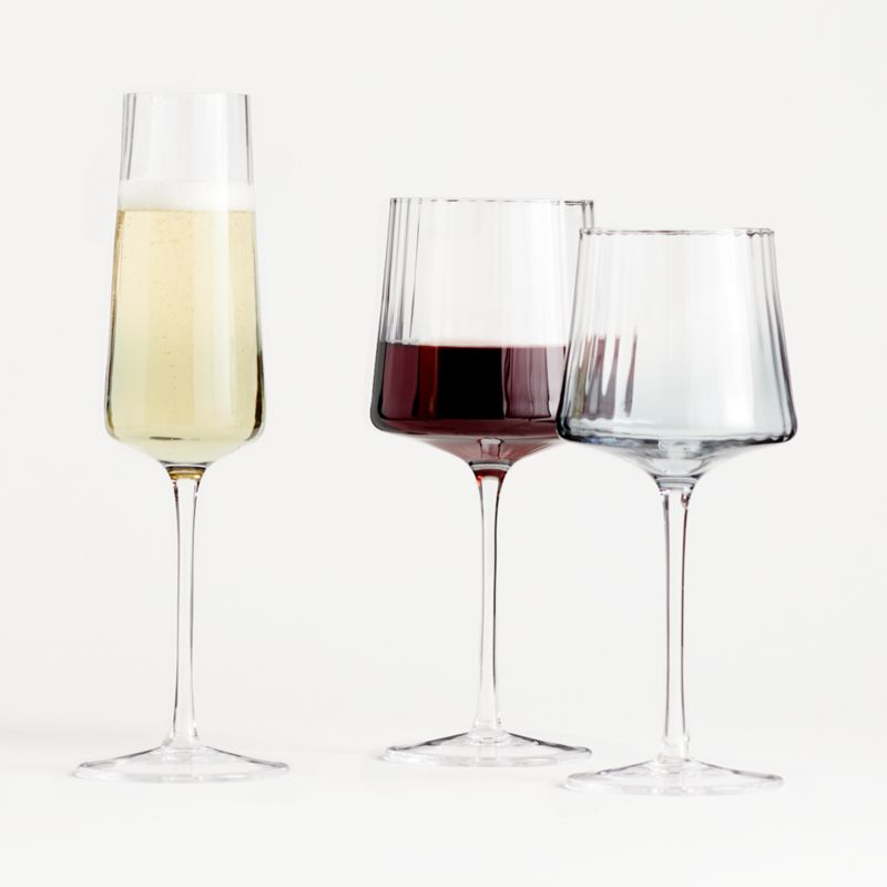 Ezra Optic Red Wine Glass