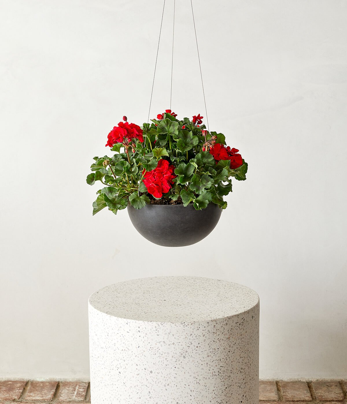 "Ecopots Hanging Pot - Medium (11"") -  Slate"