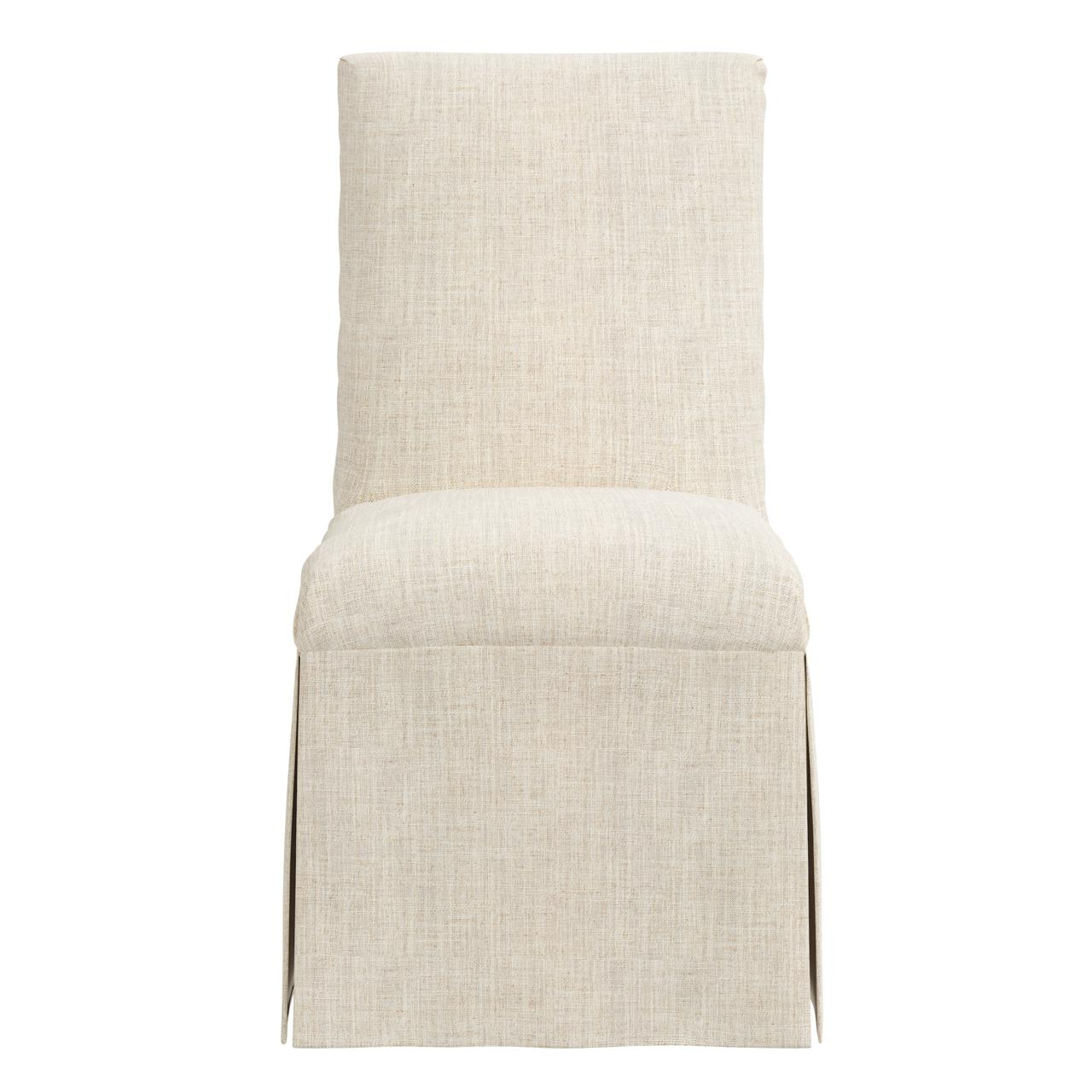 Magnolia Slipcover Dining Chair, Talc