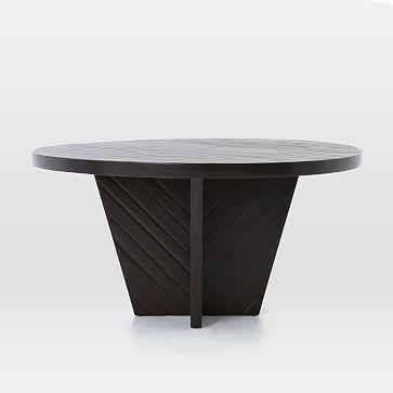 "Alexa Dining Table, Round, 59"", Honey"