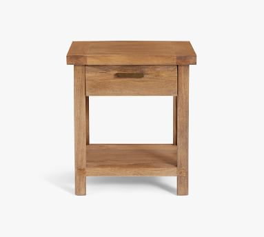 """Reed 19"""" Nightstand, Antique Umber"""