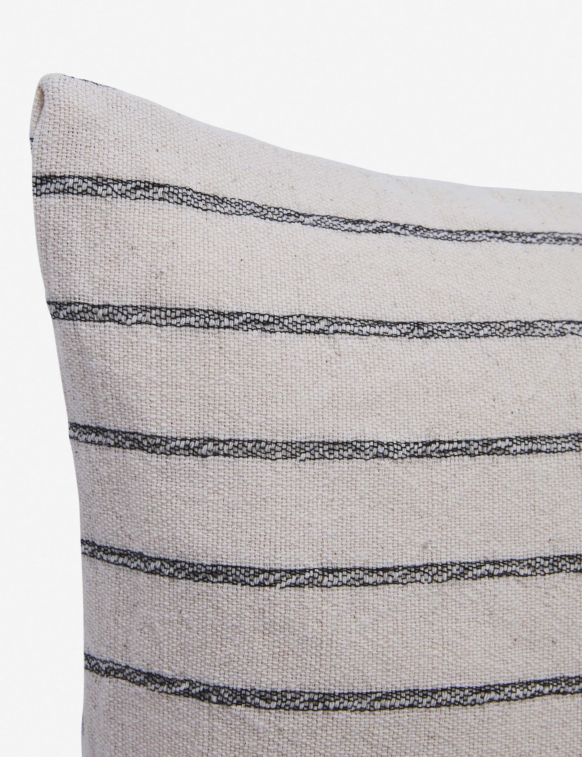 Ojai Pillow, Black