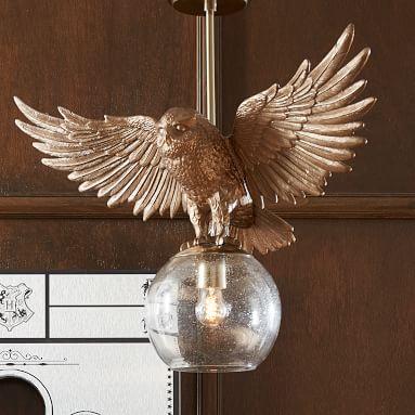 HARRY POTTER(TM) Hedwig Pendant, Brass