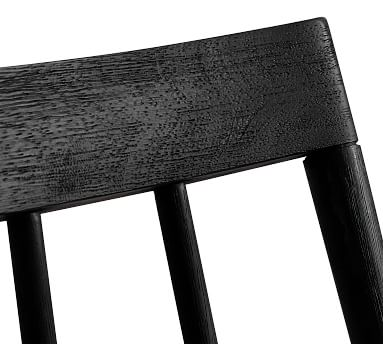 Shay Dining Chair, Black