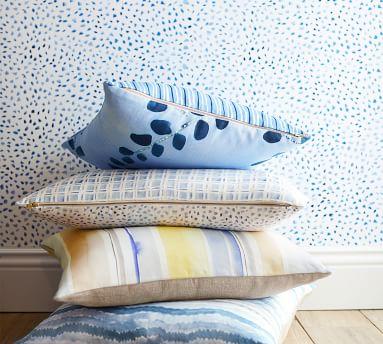 Flurry Rebecca Atwood Wallpaper, Blue - 2' x 8'