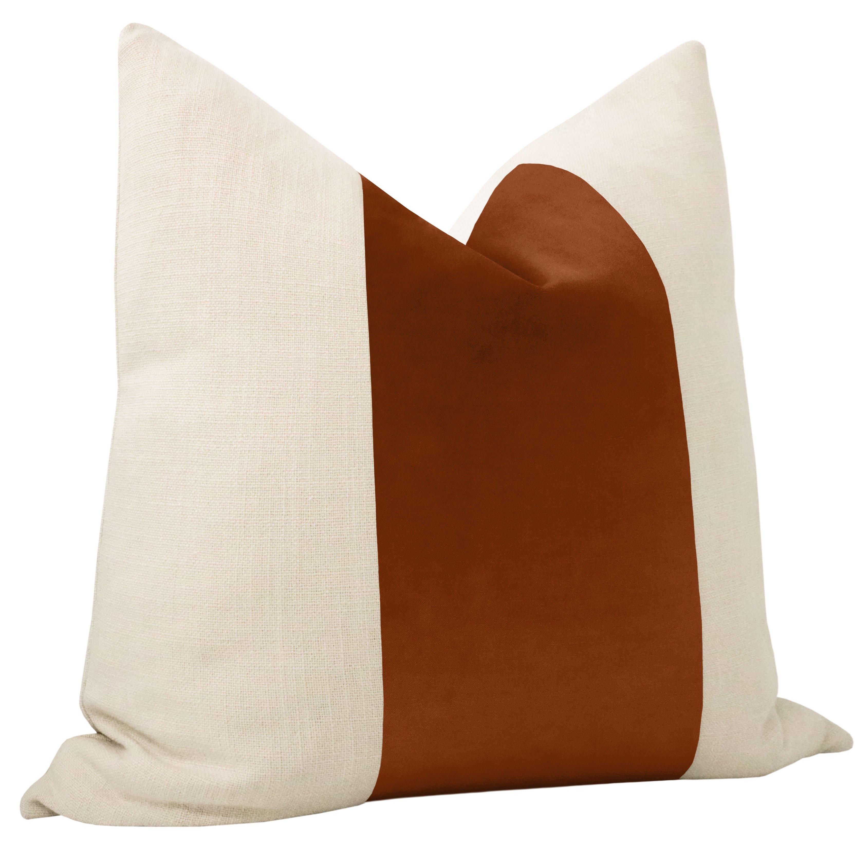 """PANEL :: Classic Velvet // Terracotta - 20"""" X 20"""""""