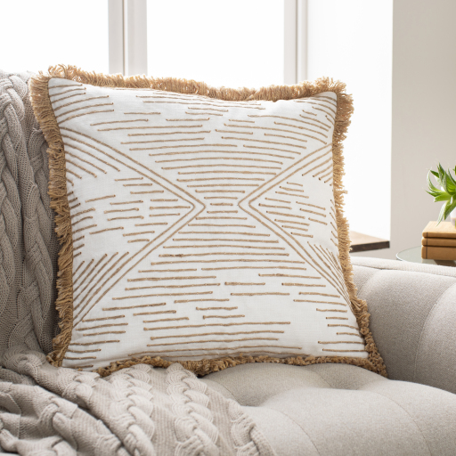 """Jahari - JHI-001 - 18"""" x 18"""" - pillow cover only"""