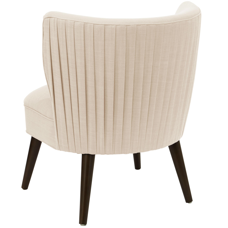 Hermosa Chair in Linen Talc