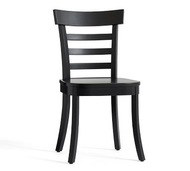 Liam Dining Chair, Salvaged Black