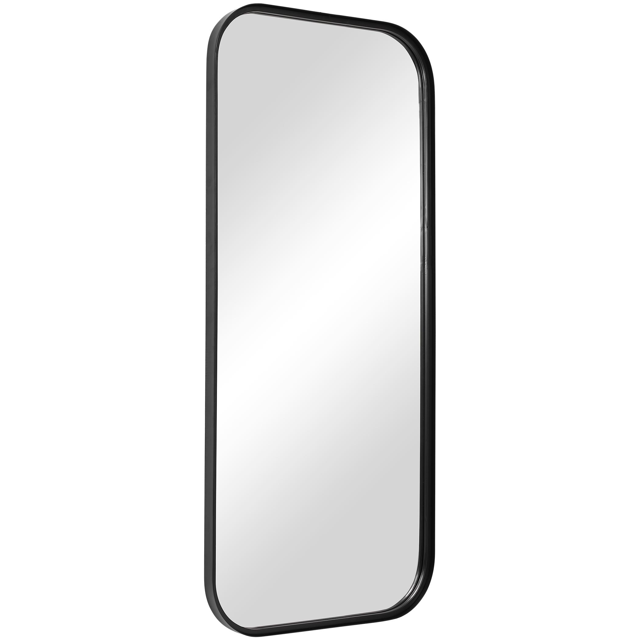 Concord Black Tall Iron Mirror