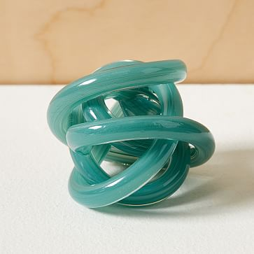 Glass Knots, Large, White
