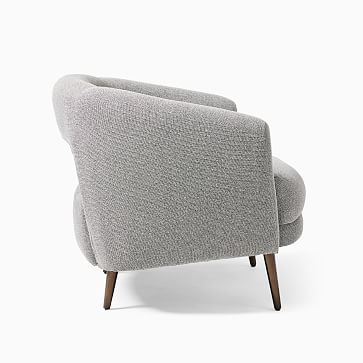 Millie Chair Poly Light Taupe Distressed Velvet Oil Rubbed Bronze