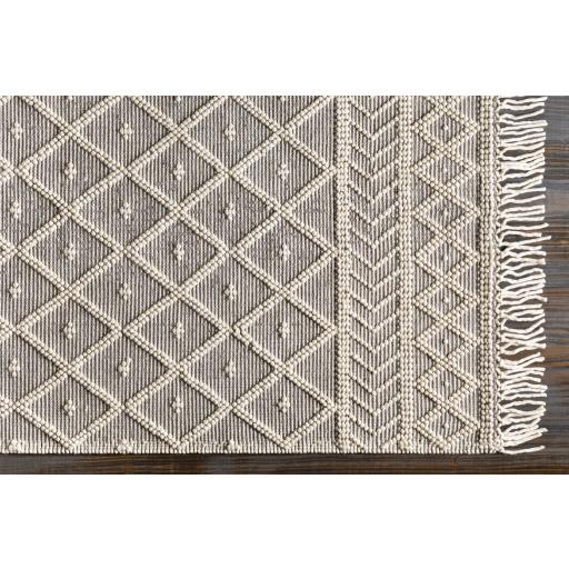 Lisbet Rug, 8' x 10', Ivory