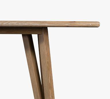 Neil Dining Table, White Washed Oak