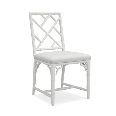 Chippendale Bistro Side Chair, White