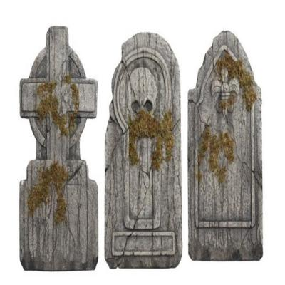 Home Accents Holiday 36 in. Graveyard Tombstones (Set of 3)