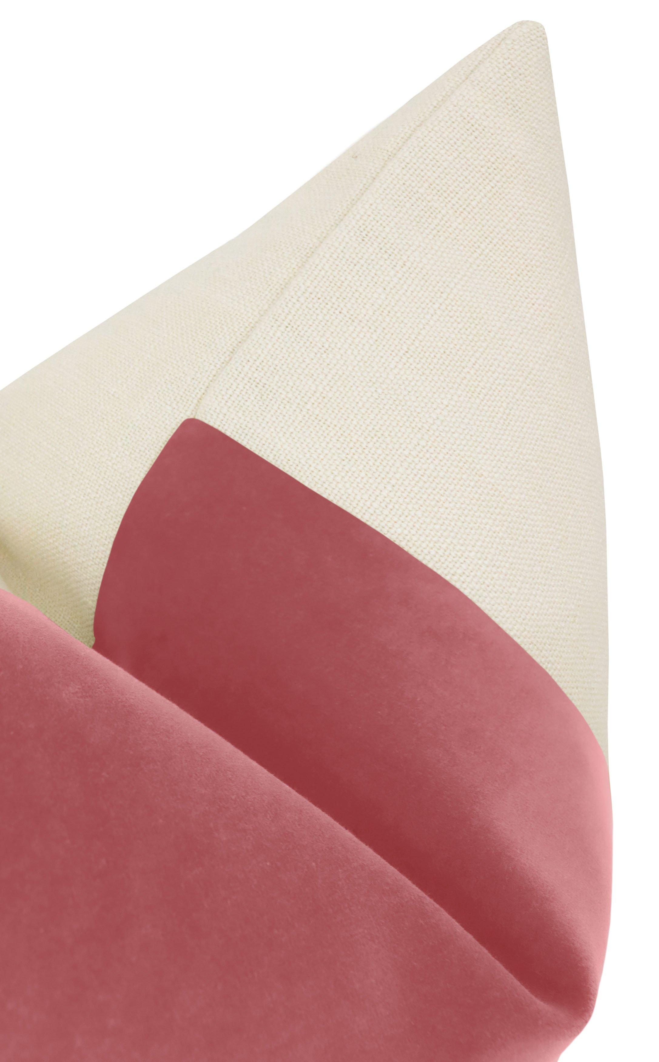 "PANEL :: Signature Velvet // Rose Pink - 24"" X 24"""