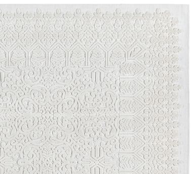 """Briallen Synthetic Rug, 7'10 x 9'10"""", Ivory"""