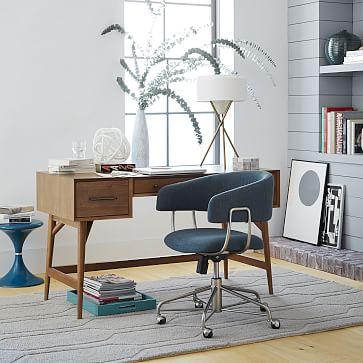 Mid Century Desk, Acorn Legs