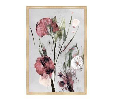 """Julianne Floral 1 Framed Matted Print, 23"""" x 34"""""""
