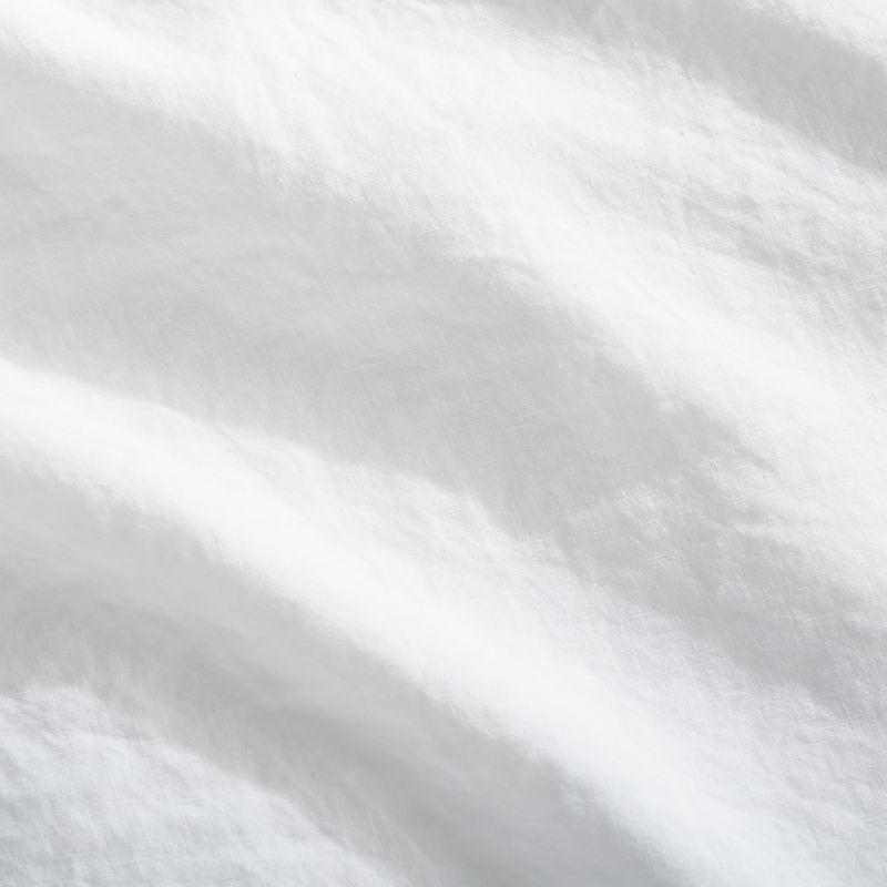 Linen White Euro Shams Set of 2