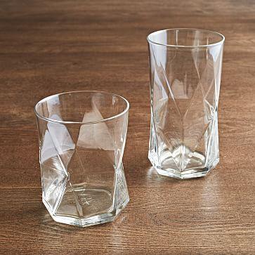 Bormioli Rocco Cassiopeia Glassware, Clear