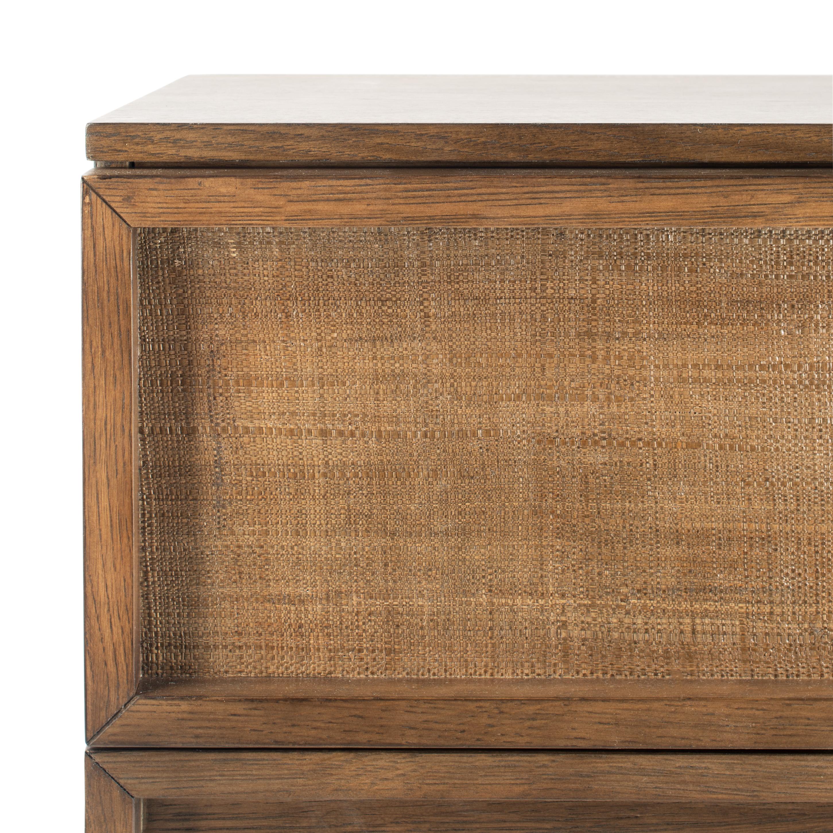 Zeus 6 Drawer Wood Dresser - Natural - Arlo Home