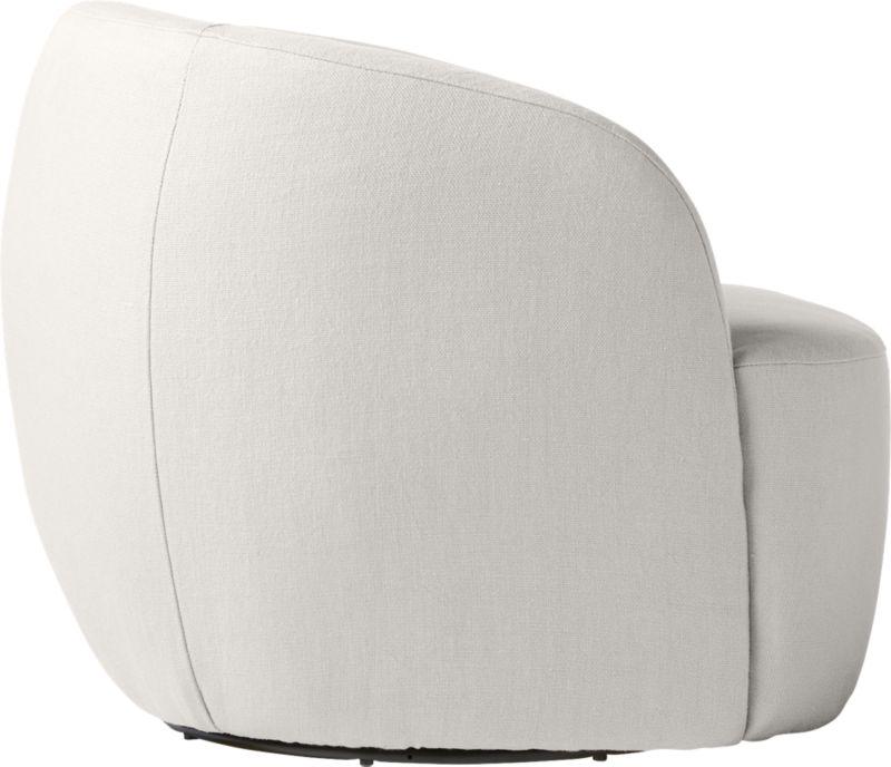 Gwyneth Grey Linen Chair