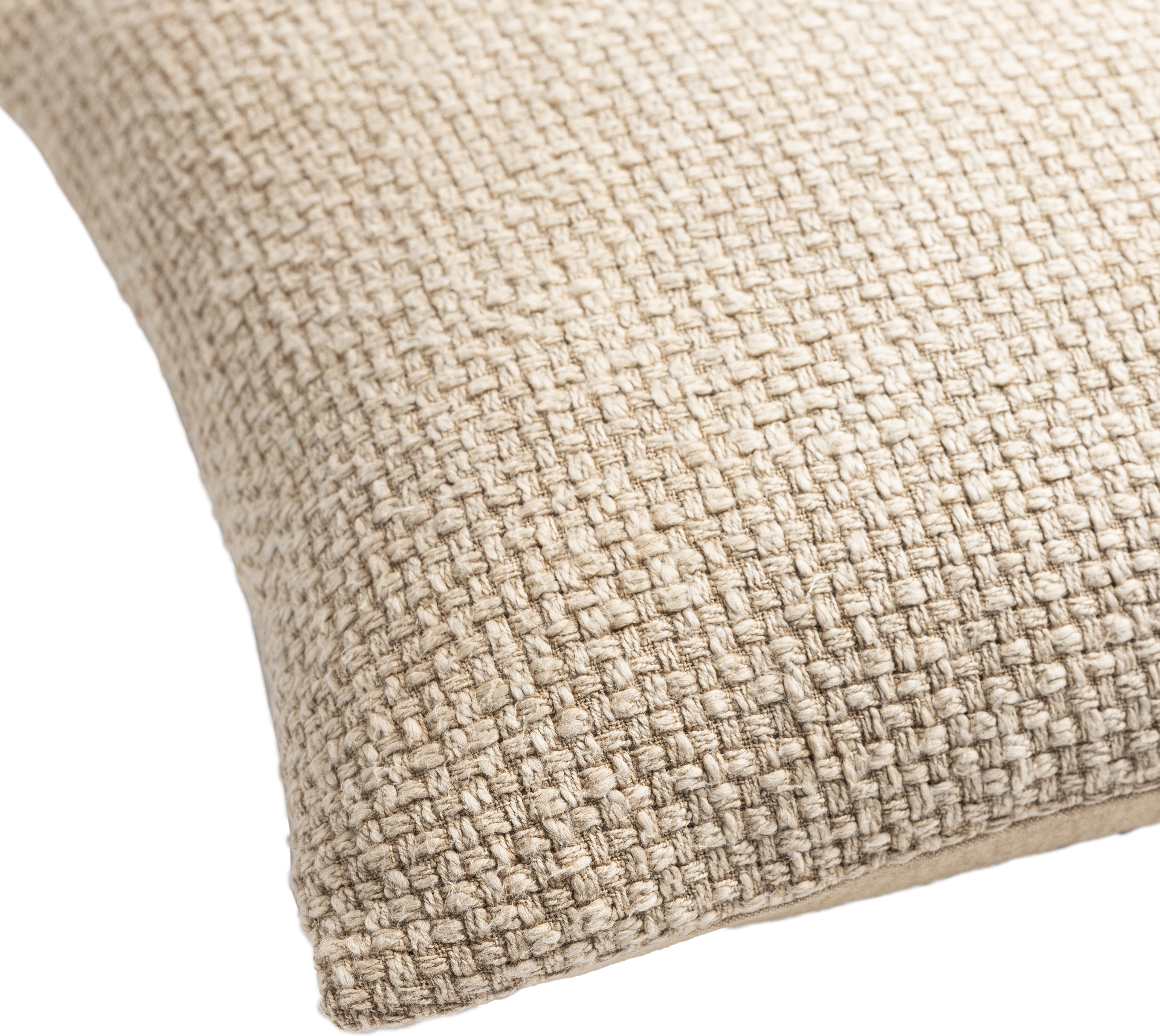 """Washed Texture Pillow, 18"""" x 18"""", Wheat"""