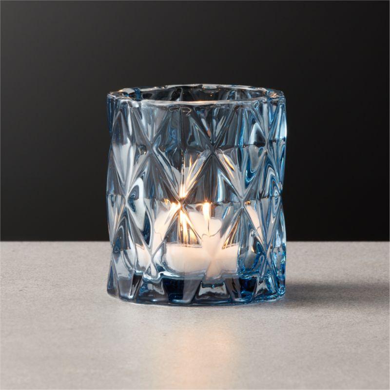 Betty Blue Tea Light Candle Holder