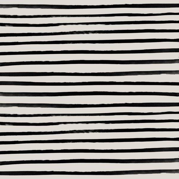 Zebra Framed Art Print by Leah Flores - Vector Black - MEDIUM (Gallery)-22x22