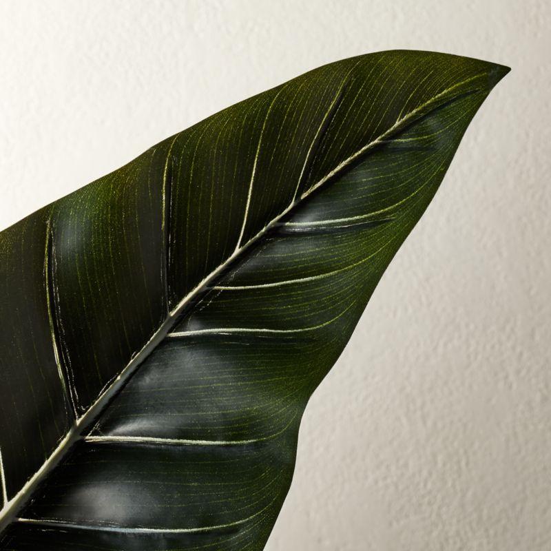 Faux Alocasia Leaf Stem