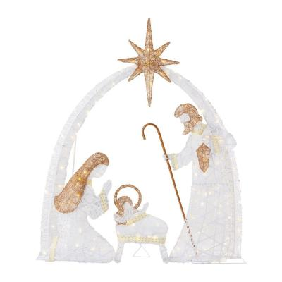 Home Accents Holiday 5.5 ft LED Nativity Scene