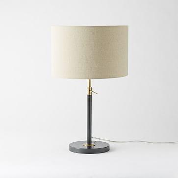 Telescoping Table Lamp, Antique Brass