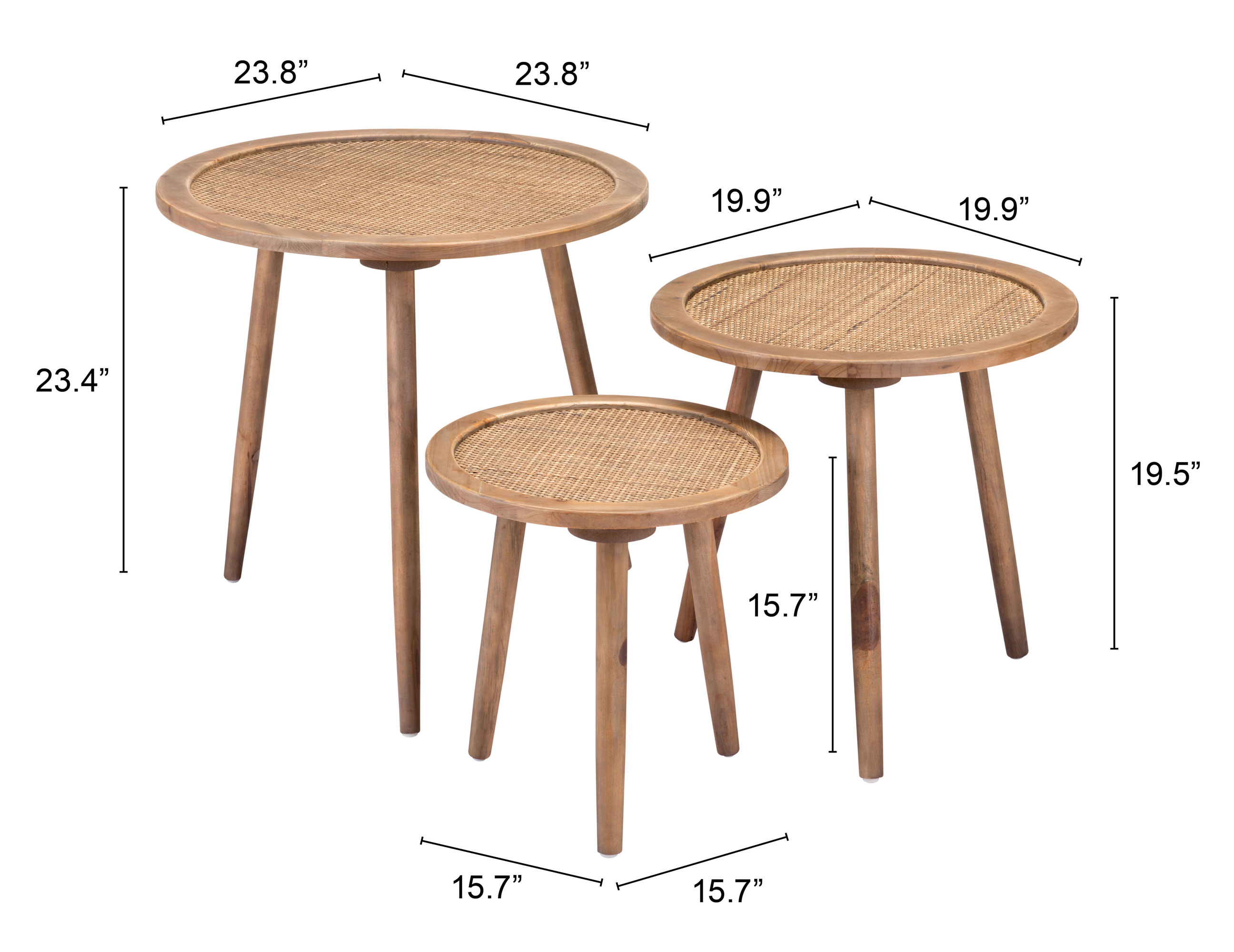 Tobyn Accent Tables, Set of 3