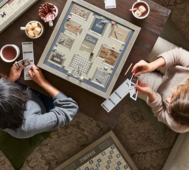 Wooden Clue Board Game - Luxury Edition