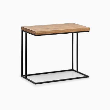 Randall C-Side Table, Oak