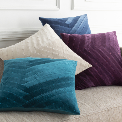 """Aviana - AVA-001 - 22"""" x 22"""" - pillow cover only"""
